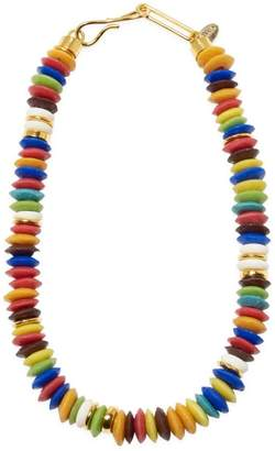 Lizzie Fortunato Laguna 18K Goldplated & Multicolor Beaded Necklace