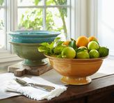 Pottery Barn Cambria Rimmed Footed Bowl