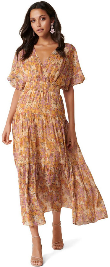 Forever New Darla Tiered Maxi Dress