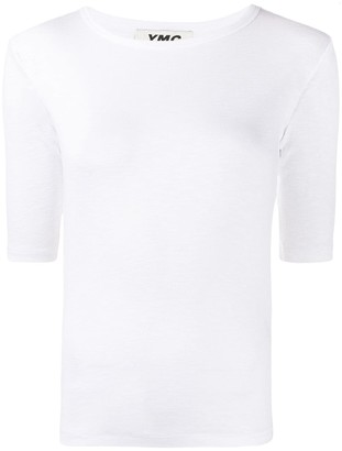 YMC plain fitted T-shirt