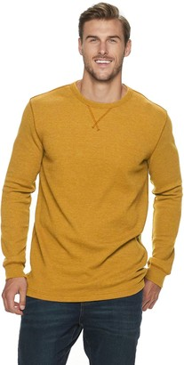 Sonoma Goods For Life Big & Tall Modern-Fit Thermal Crewneck Pullover