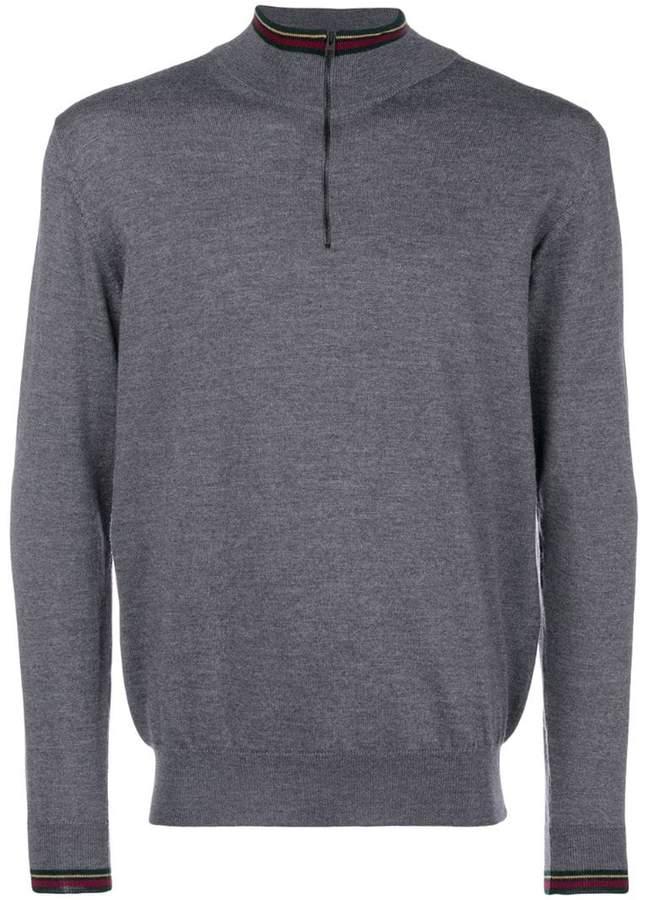 Etro quarter-zip sweater