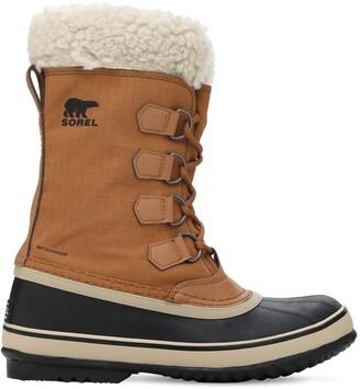 Sorel Winter Carnival Waterproof Nylon Boots