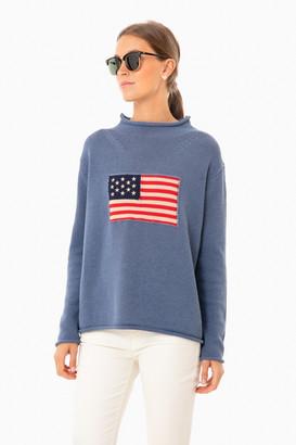 Vintage Green Americana Sweater