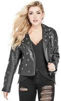 G by Guess Women's Langley Faux-Leather Jacket