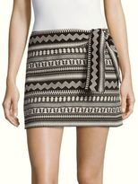 Parker Novelty Cotton Mini Skirt