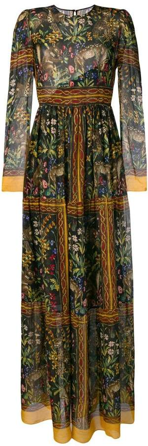Philosophy di Lorenzo Serafini floral print empire line dress