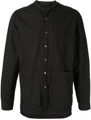 The Viridi-anne front pocket long sleeve shirt