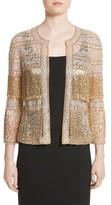 Naeem Khan Women's Sequin Fringe Jacket