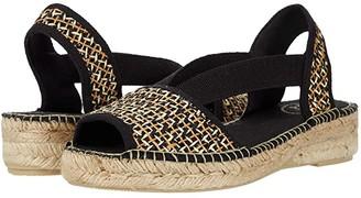 Toni Pons Estel-PA (Black) Women's Shoes