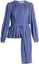 Balenciaga Striped jersey blouse