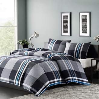Nobrand No Brand Nathan Duvet Cover Mini Set Gray