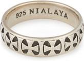 NIALAYA Iron cross ring