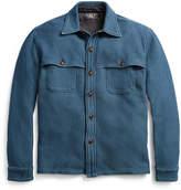 Ralph Lauren Indigo Cotton Twill Overshirt