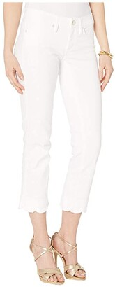 Lilly Pulitzer South Ocean Slim Crop (Resort White) Women's Casual Pants