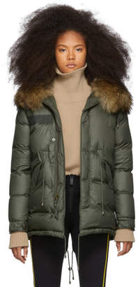 Mr & Mrs Italy Green Down London Parka