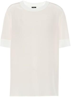 Joseph Brana silk crepe de soie T-shirt