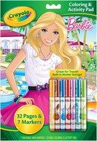 Crayola Barbie Coloring & Activity Pad w/Markers
