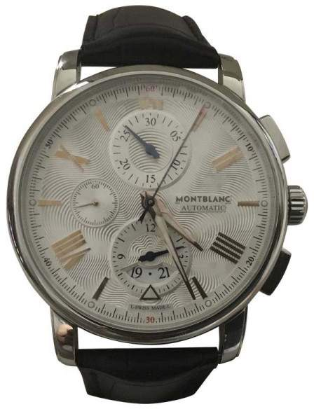 Montblanc Star 4810 Stainless Steel Automatic 43mm Mens Watch