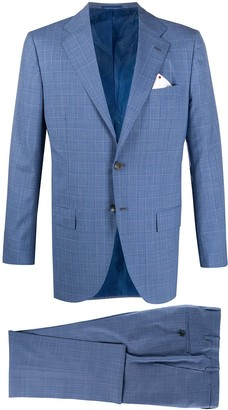 Kiton Fitted Two-Piece Suit
