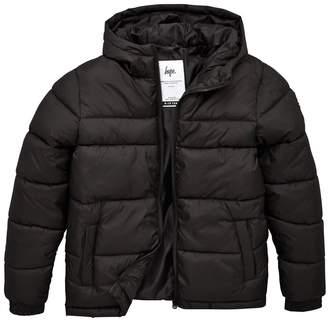 Hype Boys Padded Coat - Black
