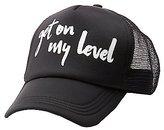 Charlotte Russe Get On My Level Trucker Hat