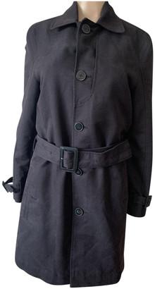 J. Lindeberg Black Cotton Coats