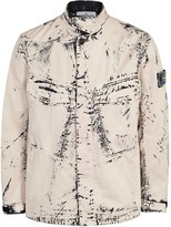 Stone Island Corrosion Distressed Cotton Jacket
