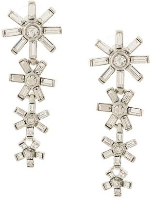 Kenneth Jay Lane Embellished Flower Earrings