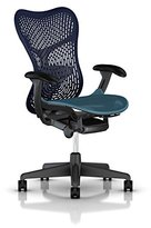 Herman Miller Mirra 2 Task Chair: Tilt Limiter - FlexFront Adj Seat Depth - Adj Lumbar Support - TriFlex Back - Adj Arms - Graphite Base & Frame