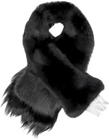 Fearfur Chess Queen Black Fur Stole