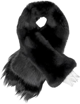 Fearfur Chess Queen Black Fur Stole