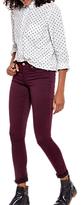 Joules Monroe Skinny Jeans, Burgundy