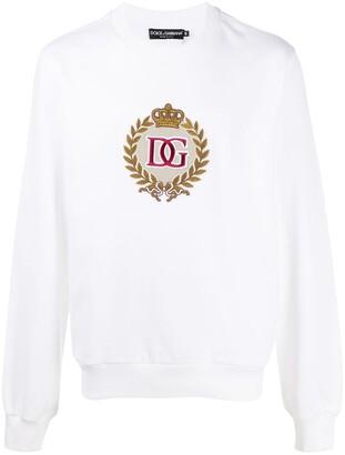 Dolce & Gabbana Crest motif sweatshirt