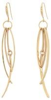 Robert Lee Morris Gold Multi Stick Linear Earrings Earring