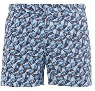 Orlebar Brown Setter Eldora-print Swim Shorts - Blue Navy