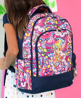 Designs By Two Greek Sisters Designs by Two Greek Sisters Backpacks - Pink Paisley Personalized Ellison Backpack