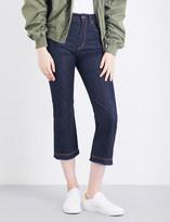 Fiorucci The Viva slim-fit high-rise jeans
