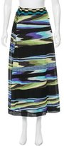 Missoni Patterned Midi Skirt