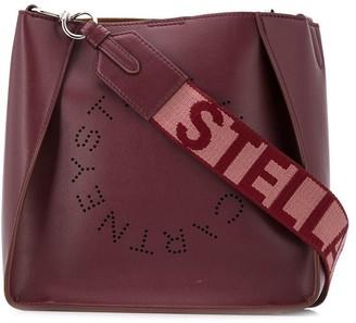 Stella McCartney perforated logo shoulder bag