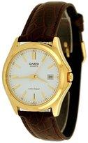 Casio Men's Core MTP1183Q-7A Leather Analog Quartz Watch