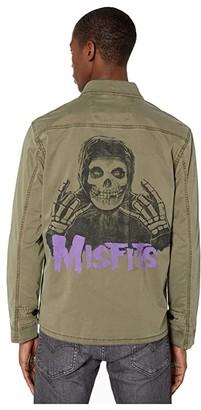 John Varvatos Misfits Jacket O1955W1B (Olive) Men's Clothing