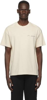 A-Cold-Wall* Beige Logo T-Shirt