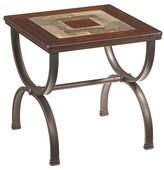 Ashley Zander End Table - Medium Brown - Signature Design®