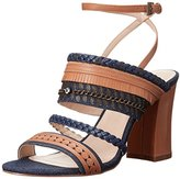 Nine West Women's Baebee Denim Heeled Sandal