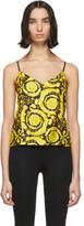 Versace Underwear Multicolor Silk Baroque Tank Top