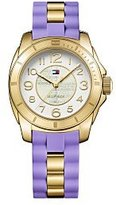 Tommy Hilfiger K2 Gold Tone Dial Ladies Casual Watch 1781564