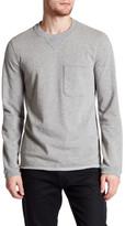 ATM Anthony Thomas Melillo Raw Cut Pocket Sweatshirt