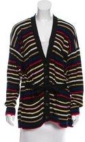 Sonia Rykiel Oversize Striped Cardigan