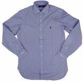 Polo Ralph Lauren Men's Striped Spread Collar Dress Shirt (15 32-33, )